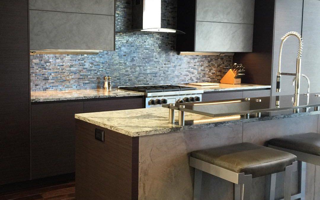 Fairmont Fineline Wenge Light Concrete Kitchen